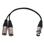 Cable XLR  Y  Splitter
