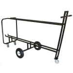 Rectangle Music Stand Cart for 20 Stands