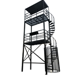 Directors Tower Dual Platform - Spiral Staircase