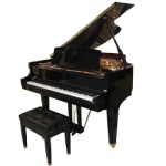 "Baldwin BP165HPE  5'5"" Professional Grand Piano with Bench"
