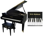 Used D.H. Baldwin Grand Piano #M5EBS
