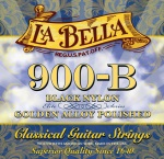 La Bella Black Nylon Classical Guitar Strings #LB900B