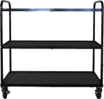 Band Equipment Cart w/ 3 Shelves