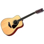 Yamaha 12-String Guitar with Solid Stika Spruce Top #FG720S12