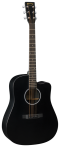 Martin 6-String Acoustic/ Electric with Sitka Spruce Top #DCXAEBLACK