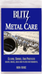 Blitz Cloths Metal Care Cloth for Musical Instruments #303B