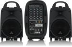 Behringer Ultra-Compact 500-Watt 6-Channel Portable PA System with Bluetooth Wireless #PPA500BT