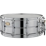 "Yamaha 14""x 5.5"" Steel Shell Snare Drum-Bright Attack/Long Decay"