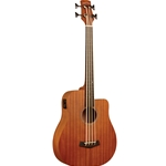 Gold Tone M-Bass25 25-Inch Scale Acoustic-Electric MicroBass with Gig Bag