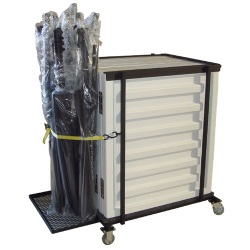 Melhart Acoustic Shell Cart for 5 Units
